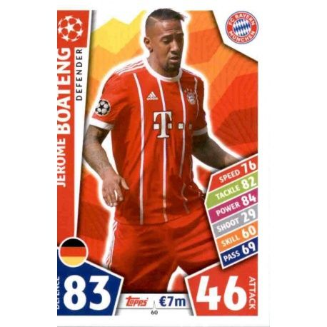 Jérôme Boateng Bayern Munich 60