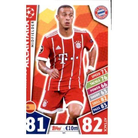 Thiago Alcántara Bayern Munich 63