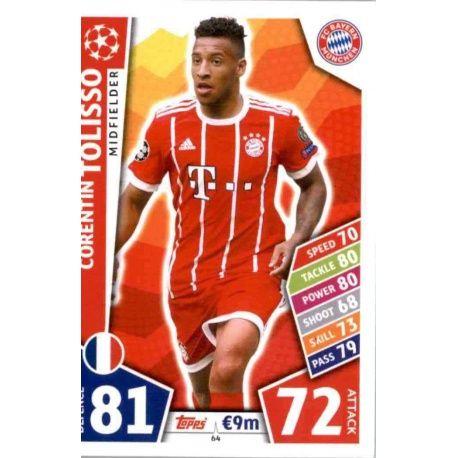 Corentin Tolisso Bayern Munich 64
