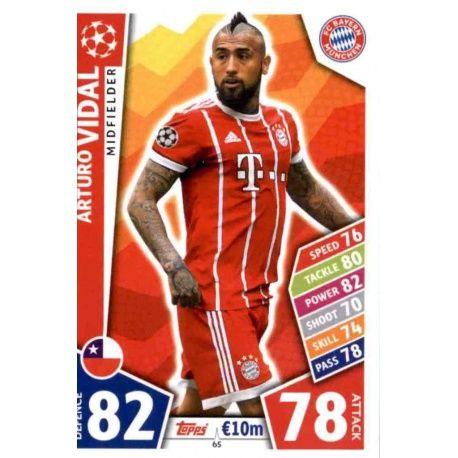 Arturo Vidal Bayern Munich 65