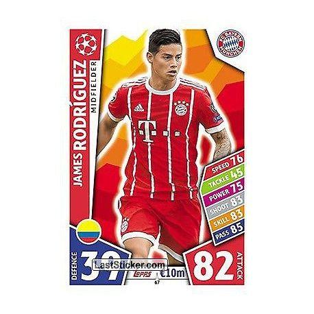 James Rodríguez Bayern Munich 67