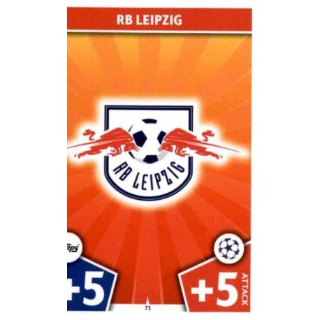 Trading Card From Escudo Of The Rb Leipzig From Match Attax Champions 2017 18