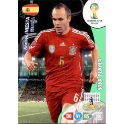 Andrés Iniesta Star Player España 150