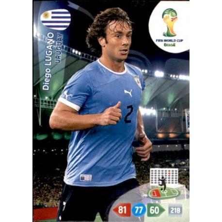 Diego Lugano Base Card Panini Adrenalyn XL World Cup 2014-307