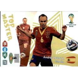 Andrés Iniesta Top Master España 410