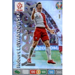 Robert Lewandowski Master 8 Adrenalyn XL Euro 2020