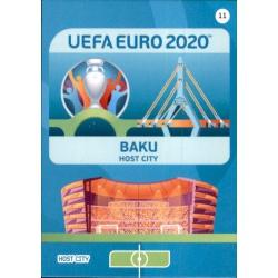 Baku Host City 11 Adrenalyn XL Euro 2020