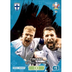 Finland Qualified Magic Moment 14 Adrenalyn XL Euro 2020