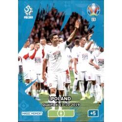 Poland Qualified Magic Moment 15 Adrenalyn XL Euro 2020