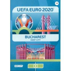 Bucharest Host City 16 Adrenalyn XL Euro 2020