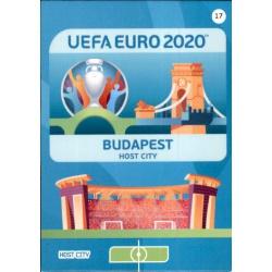Budapest Host City 17 Adrenalyn XL Euro 2020