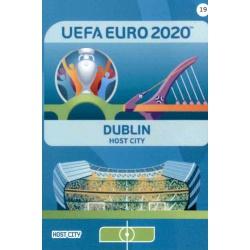 Dublin Host City 19 Adrenalyn XL Euro 2020