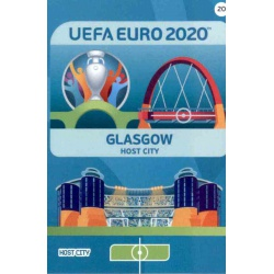 Glasgow Host City 20 Adrenalyn XL Euro 2020