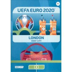 London Host City 21 Adrenalyn XL Euro 2020