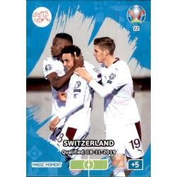 Switzerland Qualified Magic Moment 22 Adrenalyn XL Euro 2020