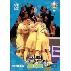 Ukraine Qualified Magic Moment 23 Adrenalyn XL Euro 2020