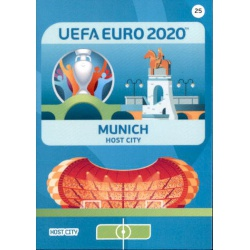 Munich Host City 25 Adrenalyn XL Euro 2020