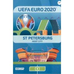 Saint Petersburg Host City 27 Adrenalyn XL Euro 2020