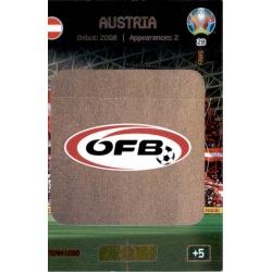 Team Logo Austria 28 Adrenalyn XL Euro 2020
