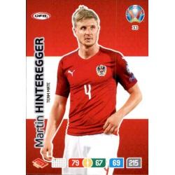 Martin Hinteregger Austria 33 Adrenalyn XL Euro 2020