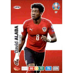 David Alaba Austria 37 Adrenalyn XL Euro 2020