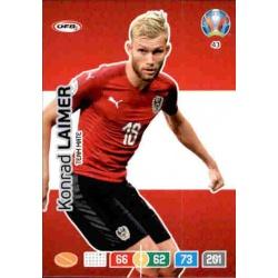 Konrad Laimer Austria 43 Adrenalyn XL Euro 2020