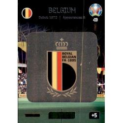 Team Logo Belgium 46 Adrenalyn XL Euro 2020