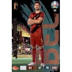 Jan Vertonghen Fans' Favourite Belgium 49 Adrenalyn XL Euro 2020
