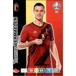 Thomas Vermaelen Belgium 50 Adrenalyn XL Euro 2020