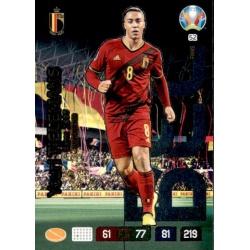 Youri Tielemans Wonderkid Belgium 52 Adrenalyn XL Euro 2020