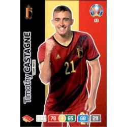 Timothy Castagne Belgium 53 Adrenalyn XL Euro 2020