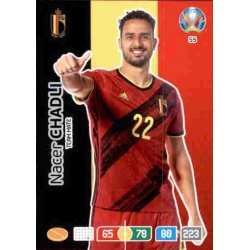 Nacer Chadli Belgium 55 Adrenalyn XL Euro 2020