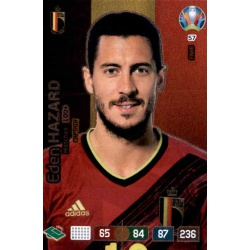 Eden Hazard Captain Belgium 57 Adrenalyn XL Euro 2020