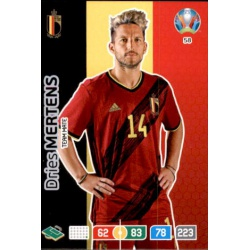 Dries Mertens Belgium 58 Adrenalyn XL Euro 2020