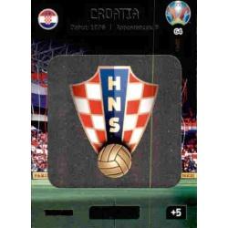 Team Logo Croatia 64 Adrenalyn XL Euro 2020