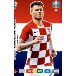 Duje Ćaleta-Car Croatia 69 Adrenalyn XL Euro 2020