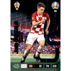 Josip Brekalo Wonderkid Croatia 70 Adrenalyn XL Euro 2020