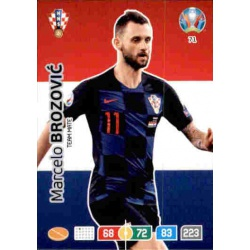 Marcelo Brozović Croatia 71 Adrenalyn XL Euro 2020