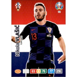 Nikola Vlaišić Croatia 72 Adrenalyn XL Euro 2020