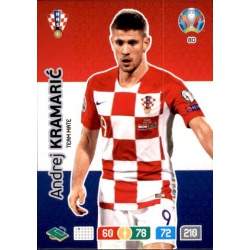 Andrej Kramarić Croatia 80 Adrenalyn XL Euro 2020