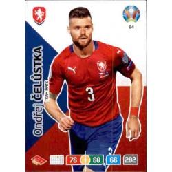 Ondrej Čelustka Czech Republic 84 Adrenalyn XL Euro 2020