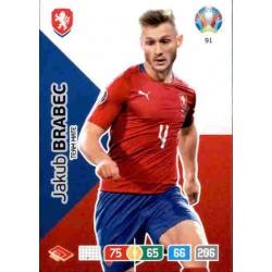 Jakub Brabec Czech Republic 91 Adrenalyn XL Euro 2020
