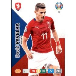 David Pavelka Czech Republic 92 Adrenalyn XL Euro 2020