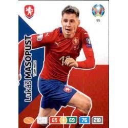Lukáš Masopust Czech Republic 95 Adrenalyn XL Euro 2020
