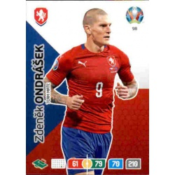Zdenek Ondrášek Czech Republic 98 Adrenalyn XL Euro 2020