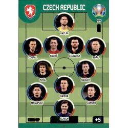 Line-Up Czech Republic 99 Adrenalyn XL Euro 2020