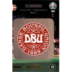 Team Logo Denmark 100 Adrenalyn XL Euro 2020