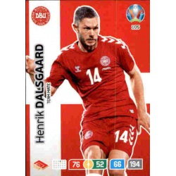 Henrik Dalsgaard Denmark 105 Adrenalyn XL Euro 2020