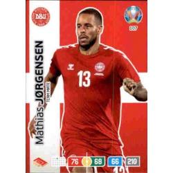 Mathias Jorgensen Denmark 107 Adrenalyn XL Euro 2020