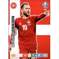 Christian Eriksen Denmark 108 Adrenalyn XL Euro 2020